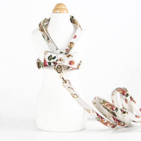 Flower harness White