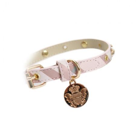 Amy Tartan Pink Collar