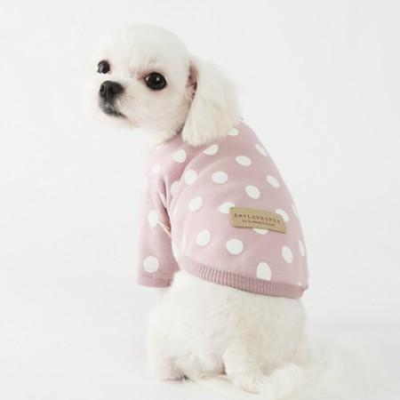 Leo Dot T-shirt Pink
