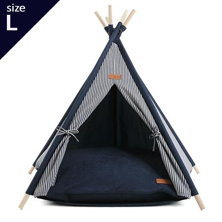 A tent L